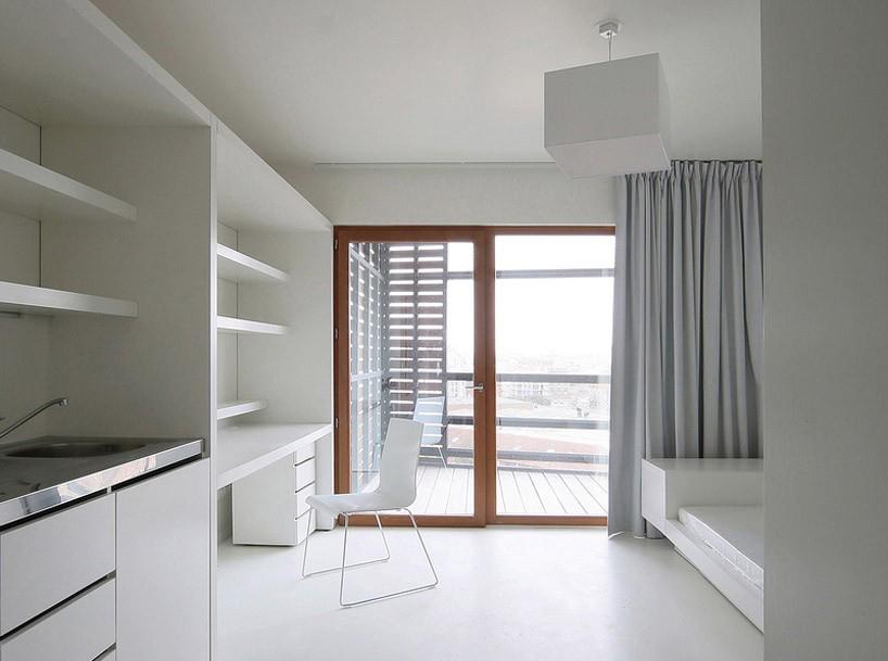 法国巴黎的篮子学生公寓建筑设计